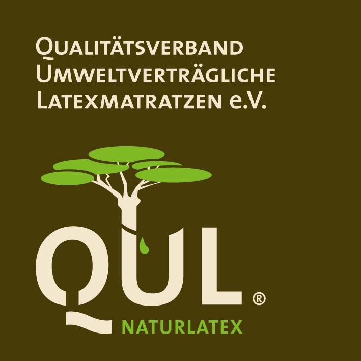QUL - Qualitätsverband umweltverträgliche Latexmatratzen e.V. logo