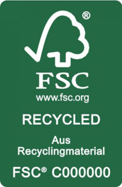 Forest Stewardship Council (FSC) - Recycled logo